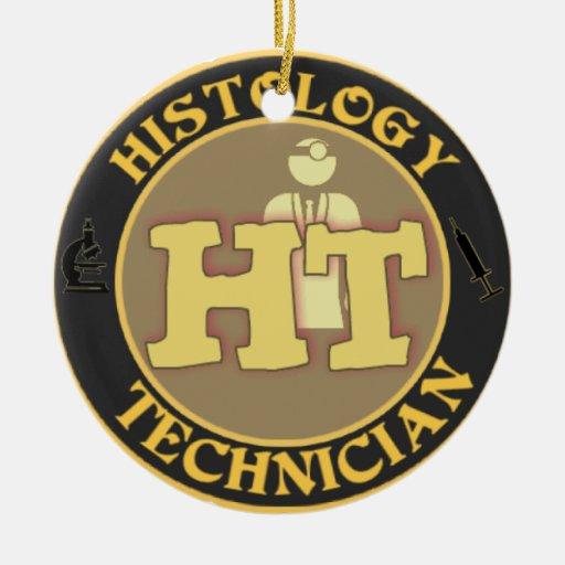 ht histology technician ornament christmas