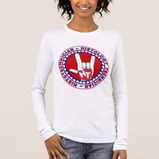 HT HISTOTECHNICIAN HISTOLOGY TECH LOVE LOGO ASL LONG SLEEVE T-Shirt