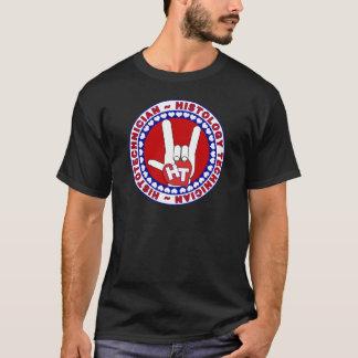 HT HISTOTECHNICIAN HISTOLOGY TECH LOVE LOGO ASL T-Shirt