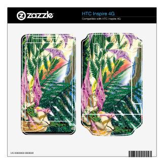 HTC inspira 4G Miranda por la piel del vinilo de l Calcomanías Para HTC Inspire 4G