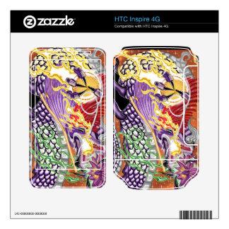 HTC inspira el dragón 4G de las pieles del vinilo  HTC Inspire 4G Skin