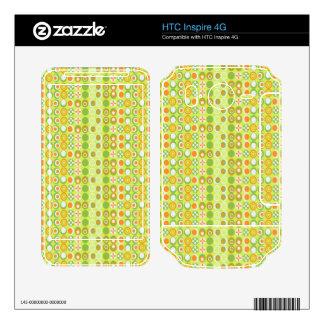 HTC inspira la piel 4G Skins Para HTC Inspire 4G