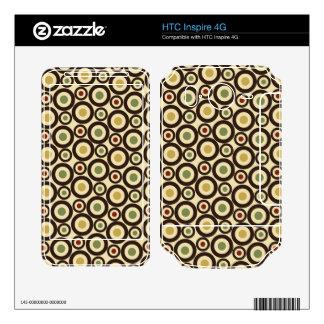HTC inspira la piel 4G Calcomanía Para HTC Inspire 4G