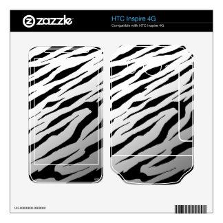 HTC inspira las pieles blancas del vinilo de la ra Calcomanía Para HTC Inspire 4G
