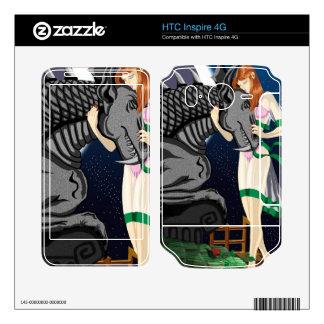 HTC inspira pieles del vinilo de 4G Mari HTC Inspire 4G Calcomanías