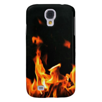 HTC This Is Why I'm Hot Flames Galaxy S4 Case