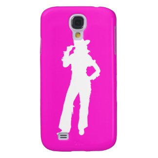 HTC Vivid Case-Mate Cowgirl Silhouette White/Pink Samsung S4 Case
