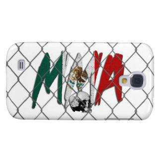 HTC Vivid Mexico MMA White Galaxy S4 Cover