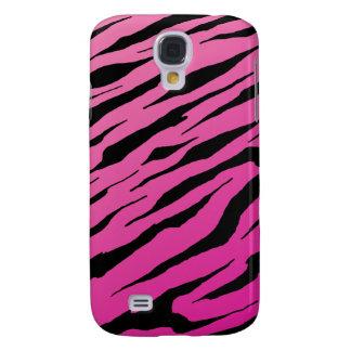 HTC Vivid Pink Tiger Stripe Tough Case Galaxy S4 Covers