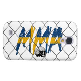 HTC Vivid Sweden MMA White Samsung S4 Case