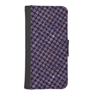 HTH2 BK-PR MARBLE WALLET PHONE CASE FOR iPhone SE/5/5s
