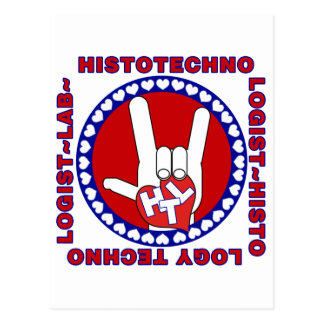 HTL HISTOTECHNOLOGIST SPECIALIST LOGO SQUARE LAB POSTCARD