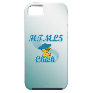 HTML5 Chick #3 iPhone 5 Cases