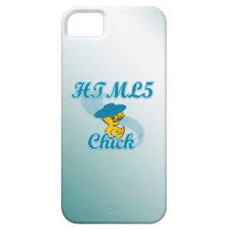 HTML5 Chick #3 iPhone 5 Cover
