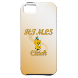 HTML5 Chick iPhone 5 Cases