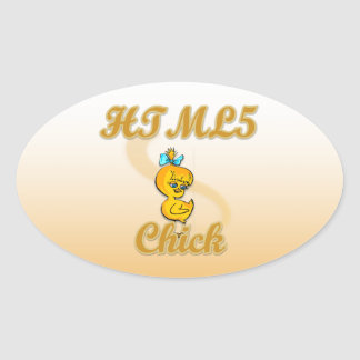 HTML5 Chick Stickers
