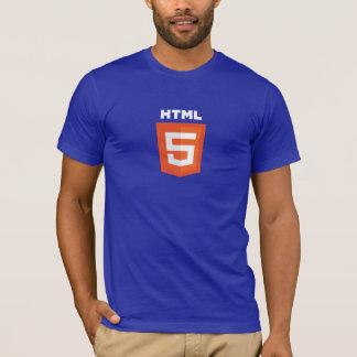 HTML5 dark blue T-Shirt