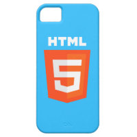 HTML5 iPhone Case for iPhone 5 & 5S (Blue)