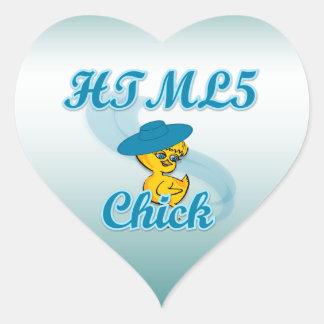 HTML5 polluelo #3 Pegatina En Forma De Corazón