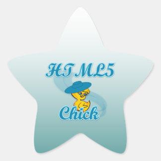 HTML5 polluelo #3 Pegatina En Forma De Estrella