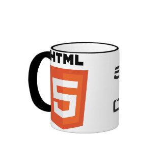 html5 ringer coffee mug