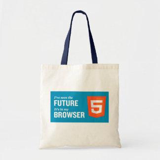 HTML5 shopping bag