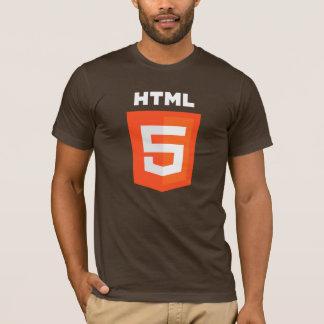HTML5 T-shirt (Brown)