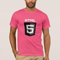 HTML5 T-shirt (On Pink T-Shirt)