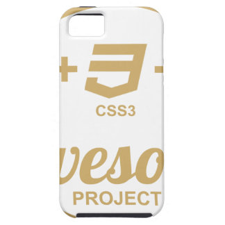 HTML5 Web Designer Awesome Css3 Tshirt iPhone 5 Cover