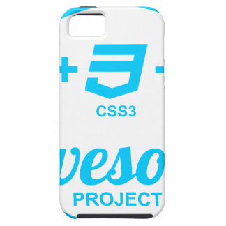 HTML5 Web Designer Awesome Project Css3 Tshirt iPhone 5 Cases