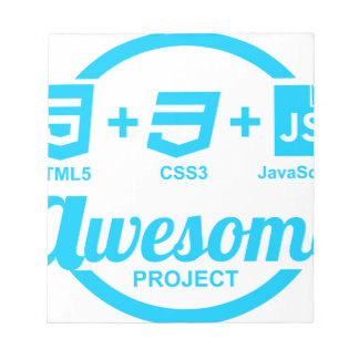 HTML5 Web Designer Awesome Project Css3 Tshirt Notepad