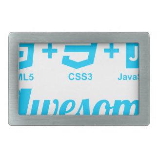 HTML5 Web Designer Awesome Project Css3 Tshirt Rectangular Belt Buckle