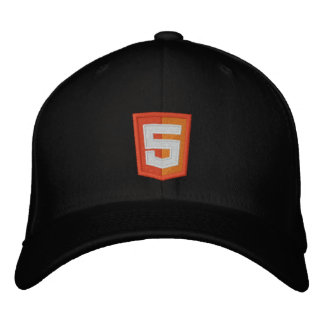 HTML 5 EMBROIDERED BASEBALL HAT