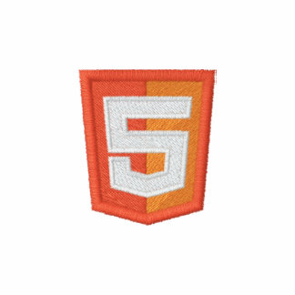 HTML 5 EMBROIDERED SHIRT