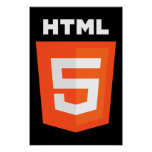 HTML 5 Logo Posters