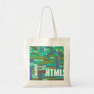 HTML 5 o HTML5 Bolsa Tela Barata