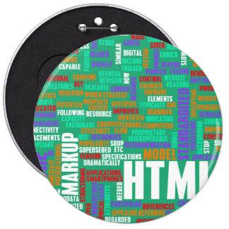 HTML 5 o HTML5 Chapa Redonda 15 Cm