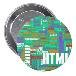 HTML 5 o HTML5 Chapa Redonda 7 Cm