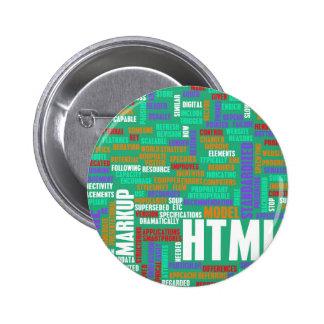 HTML 5 o HTML5 Chapa Redonda 5 Cm