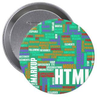 HTML 5 o HTML5 Chapa Redonda 10 Cm