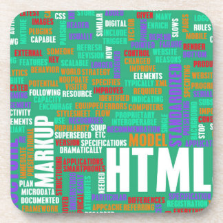 HTML 5 o HTML5 Posavasos De Bebida