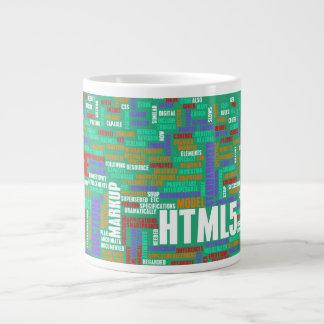 HTML 5 o HTML5 Taza Grande