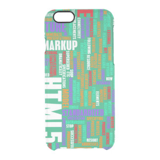 HTML 5 or HTML5 Clear iPhone 6/6S Case
