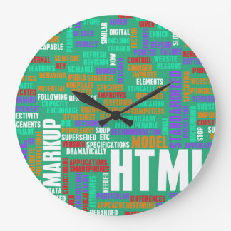 HTML 5 or HTML5 Large Clock