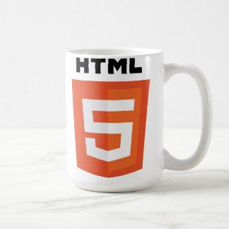 HTML 5 TAZA BÁSICA BLANCA