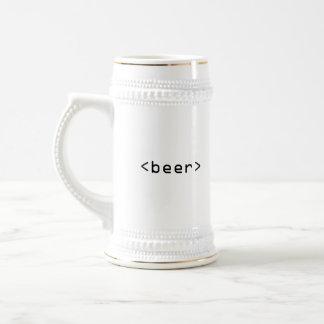 HTML beer stein Mug