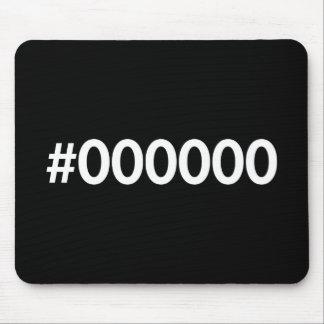 HTML Black RGB Mouse Pad