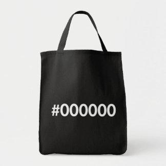 HTML Black RGB Tote Bag