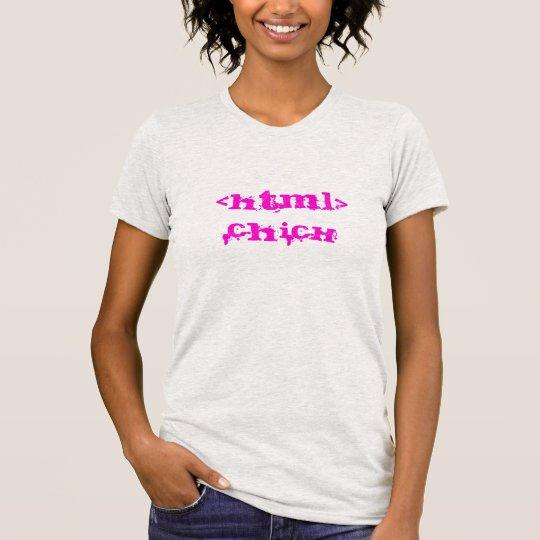 HTML Chick T-Shirt