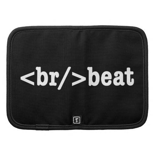 HTML del breakbeat Organizadores